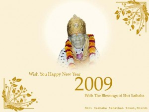 2009 Happy New Year Wishes from Shirdi