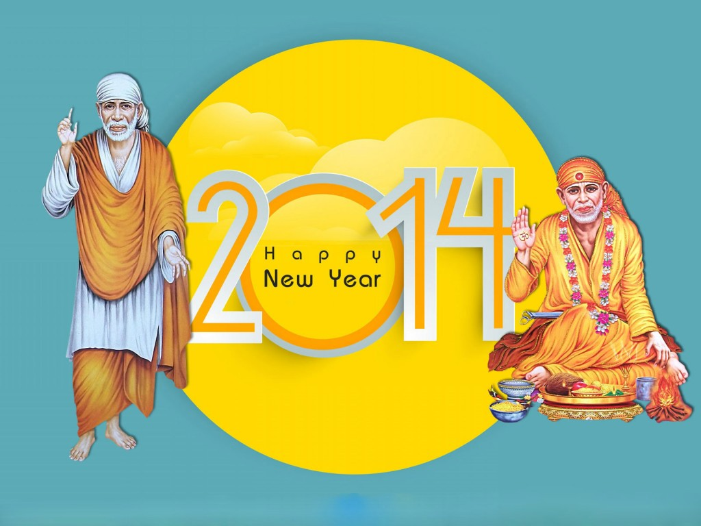 New-year-wallpaper-with-sai-baba-2014