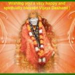 Happy Vijaya Dashami & Baba's Punyatithi (Maha Samadhi Day)